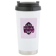 biker_babe_small Travel Coffee Mug