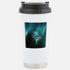 Fractal Water Stainless Steel Travel Mug