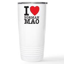 Mao T-shirt Thermos Mug