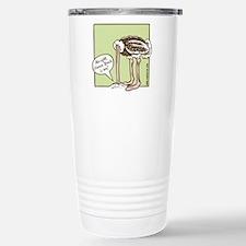 glenn_ostrich_outln Travel Mug