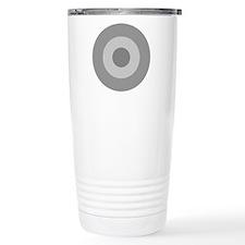 Greece - Ghost Grey Travel Mug