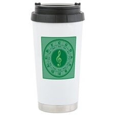 Cof5Ca2Green3a1PkX Travel Mug