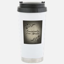 conventionality-is-not- Travel Mug
