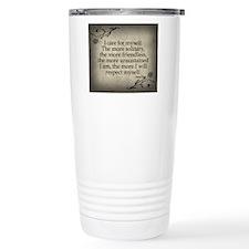 i-care-for-myself_sb Travel Coffee Mug