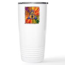 Sacred Pyramid Travel Mug