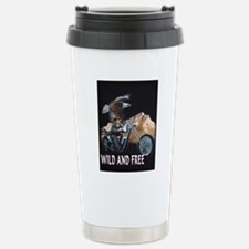 WILD AND FREE Stainless Steel Travel Mug
