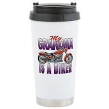 GRANDMA BIKER Travel Mug