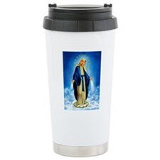 MilagrosaWoodCafeP Thermos Mug