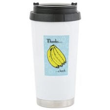 Banana bunch thank you  Travel Mug