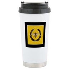Stylized Bee_Pillow Travel Mug
