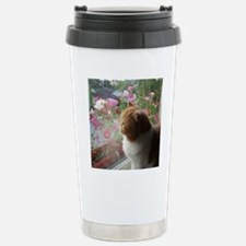 Ah, Spring (square) Travel Mug
