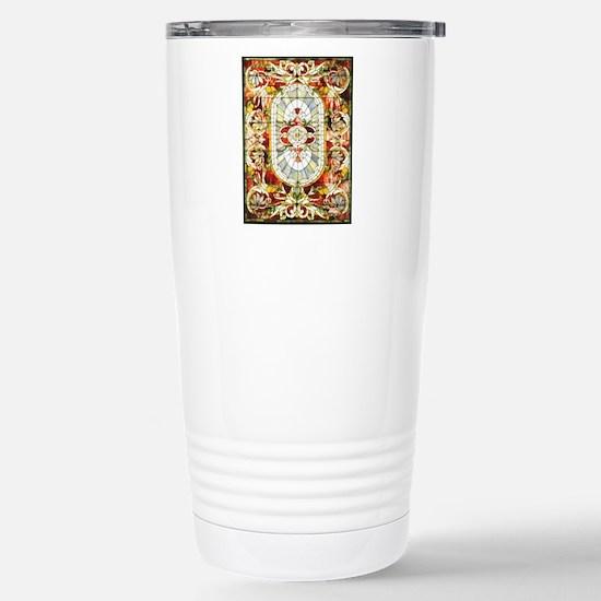 Regal_Splendor_Stained_ Stainless Steel Travel Mug