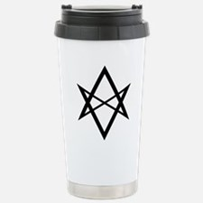 unihextransblack Travel Mug