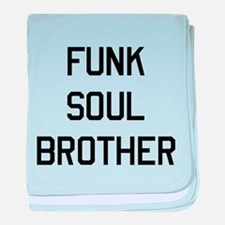 Funk Soul Brother baby blanket