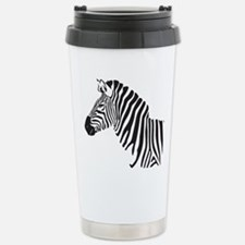 Zebra Stainless Steel Travel Mug