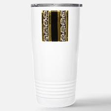 diamond_black_coral_gol Stainless Steel Travel Mug