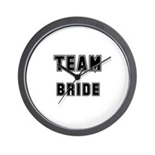 TEAM BRIDE Wall Clock