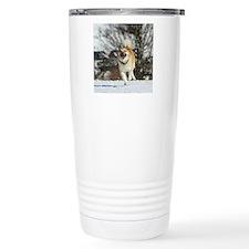 IcelandicSheepdog016 Travel Coffee Mug