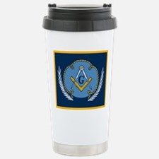 Masonic Blanket Travel Mug
