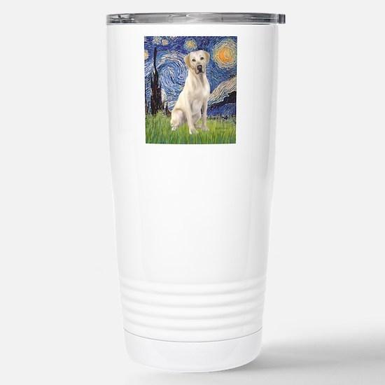 StarryNight (T) - Yello Stainless Steel Travel Mug