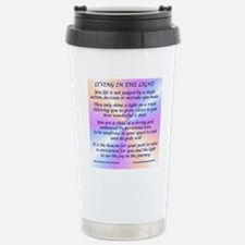 45_45LivingInLightSquar Travel Mug