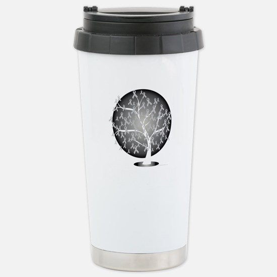 Parkinsons-Disease-Tree Stainless Steel Travel Mug