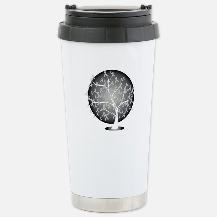 Parkinsons-Disease-Tree Stainless Steel Travel Mug