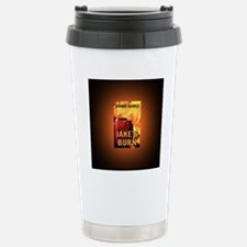 Jakes Burn button mag Travel Mug