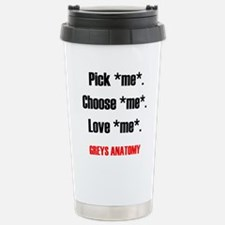 PICKMECHOOSEMEBLACK2 Travel Mug