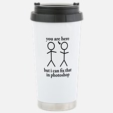 you are here Stainless Steel Travel Mug