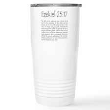 ezekiel2517 quote Travel Mug