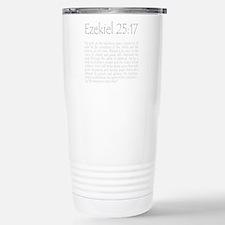 ezekiel2517 quote - gre Travel Mug