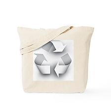 Unique Recycle symbol Tote Bag