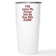 Leave My Farmer And My  Travel Mug