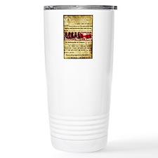 whywedidit2 Travel Coffee Mug