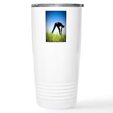 Black Snakskin Zentai 0 Travel Mug