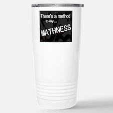 mathness final 01 Stainless Steel Travel Mug