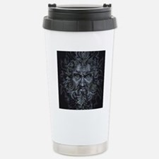 Green Man Stainless Steel Travel Mug