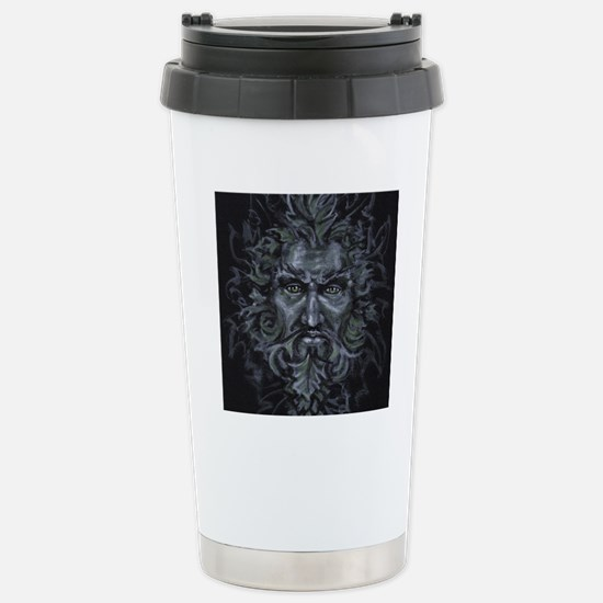 Green Man Stainless Steel Travel Mug
