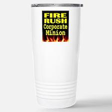 Fire Rush Corporate Min Stainless Steel Travel Mug