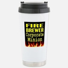 Fire Brewer Corporate M Stainless Steel Travel Mug