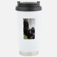Gordon Setter Generations Painting Travel Mug