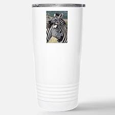 nuzzling zebras Travel Mug