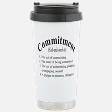 commitment Stainless Steel Travel Mug