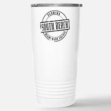 South Beach Title W Stainless Steel Travel Mug
