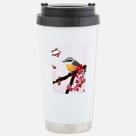 Nuthatch Stainless Steel Travel Mug