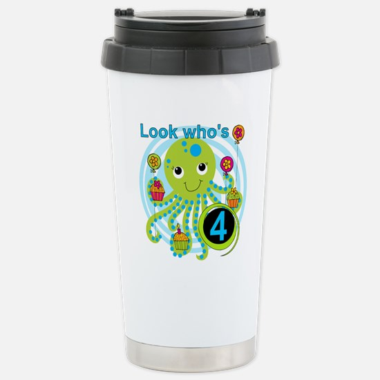 OCTOPUSfour Stainless Steel Travel Mug