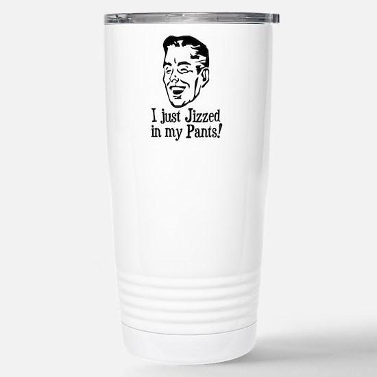 jizzed1 Stainless Steel Travel Mug