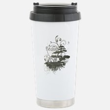 Bonsai Tree - Green on  Travel Mug