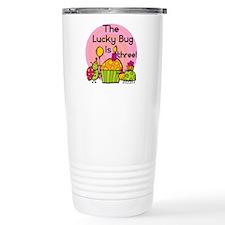 Lucky Bug 3rd Birthday Travel Coffee Mug